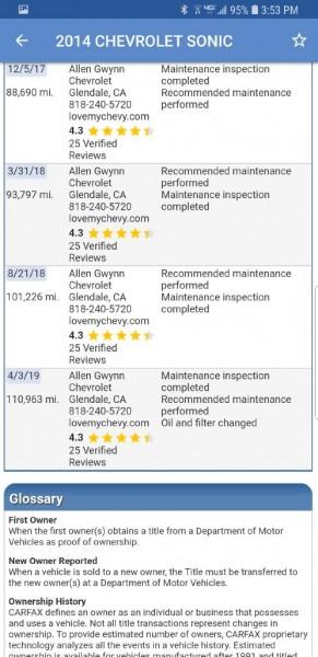 CHEVROLET SONIC 2014 price $6,999