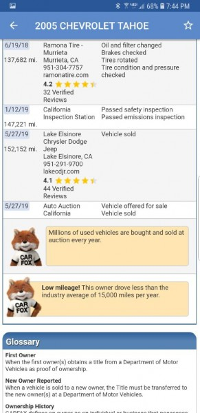 CHEVROLET TAHOE 2005 price $5,999