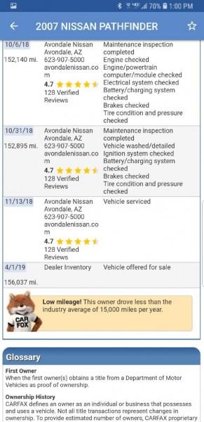 NISSAN PATHFINDER 2007 price $6,599