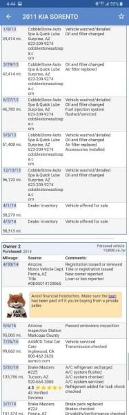 KIA SORENTO 2011 price $6,549