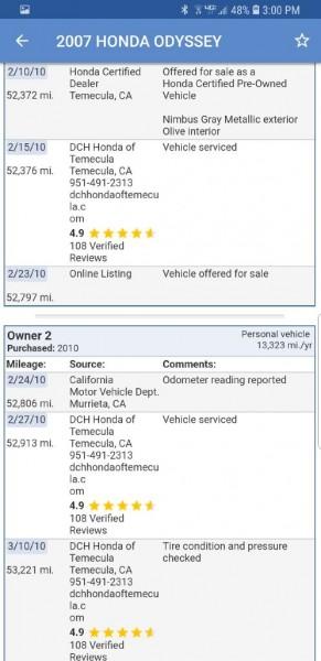 HONDA ODYSSEY 2007 price $6,299