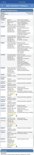 CHEVROLET TRAILBLAZER 2002 price $5,699