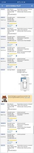 HONDA PILOT 2010 price $9,799