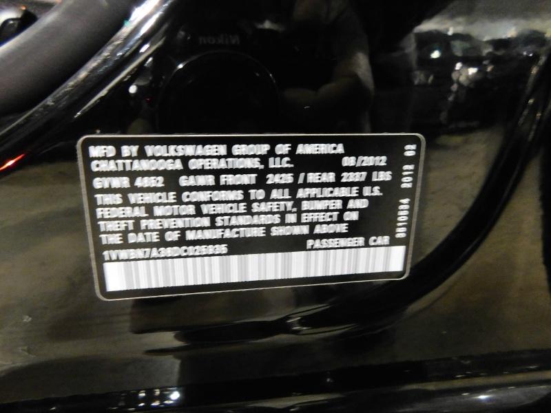 Volkswagen Passat 2013 price $9,990