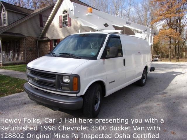 1998 Chevrolet Chevy Bucket Van