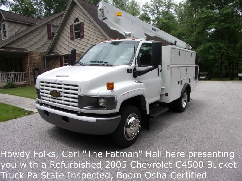 Chevrolet C4500 2005 price $26,900