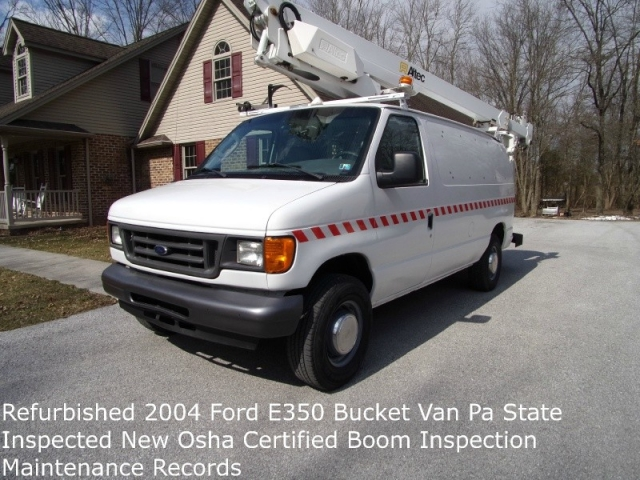 2004 Ford Bucket Van