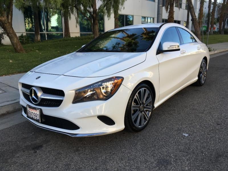 Mercedes-Benz CLA 2018 price $20,700