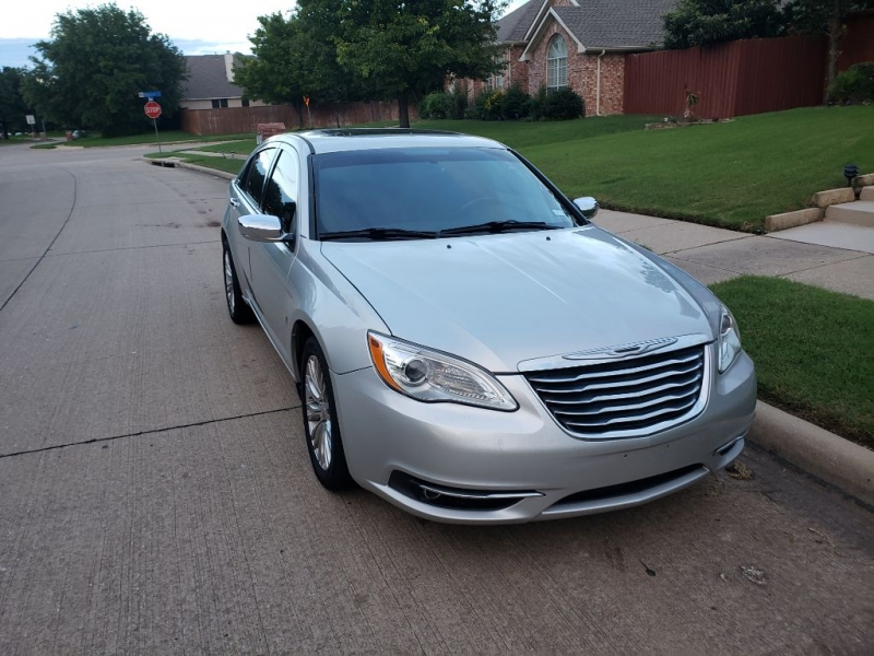 CHRYSLER 200 2012 price $6,491
