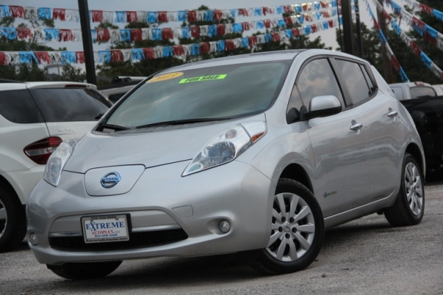 2013 Nissan Leaf 4dr Hbs Electric Rear Camera Quick Charge Port Only