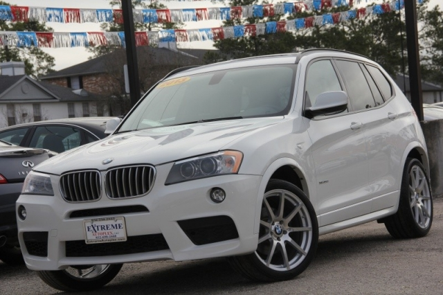 2013 BMW X3 XDrive35i M Sport Automatic Leather Navigation Panoramic
