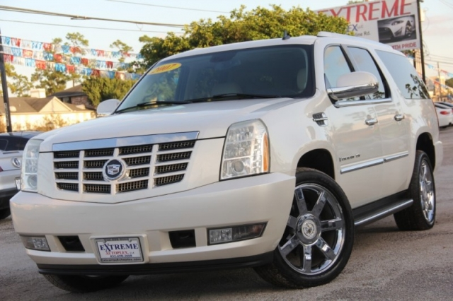 2007 Cadillac Escalade Esv Awd 4dr Automatic Leather Sunroof We