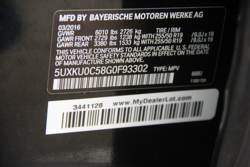 BMW X6 2016 price $33,890
