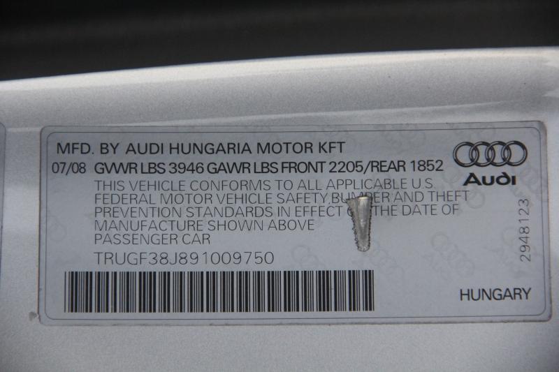 Audi TT Roadster 2009 price $13,890