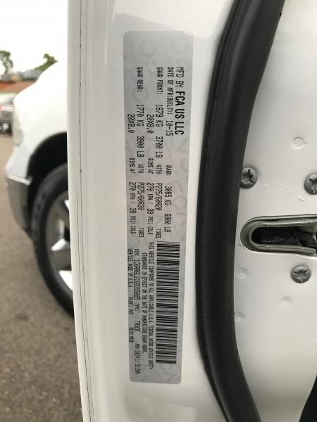 RAM 1500 2016 price $19,890