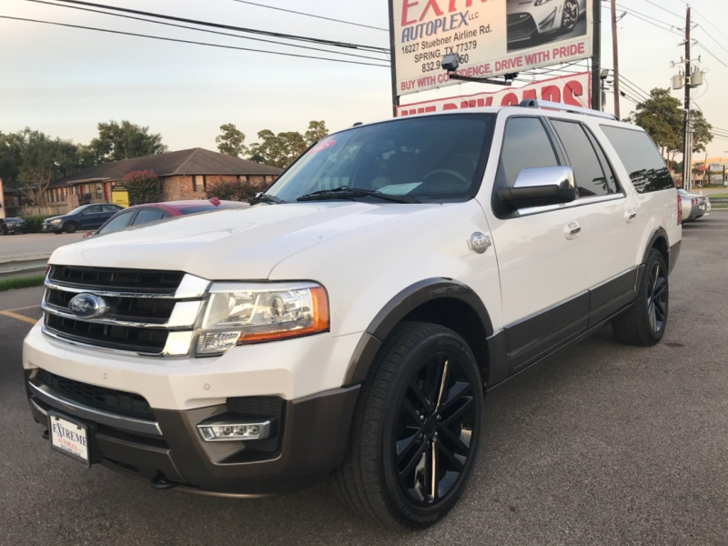 Ford Expedition EL 2015 price $17,890