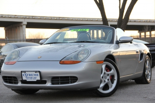 2002 Porsche Boxster 2dr Roadster S 6 Spd Manual Only 41k Miles We