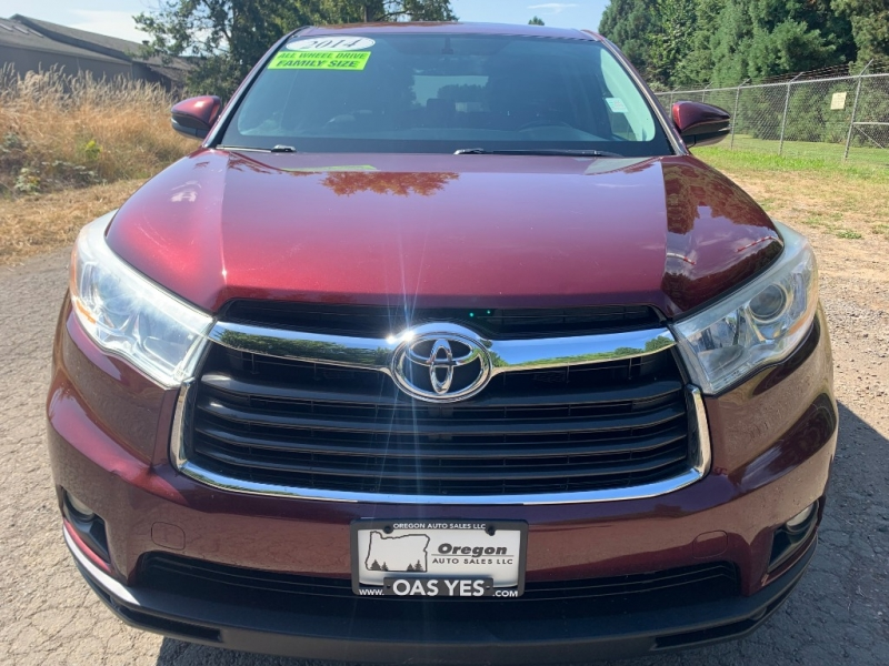Toyota Highlander 2014 price Sold