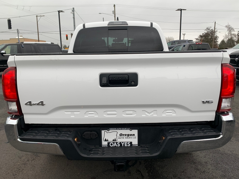 Toyota Tacoma 2018 price Sold