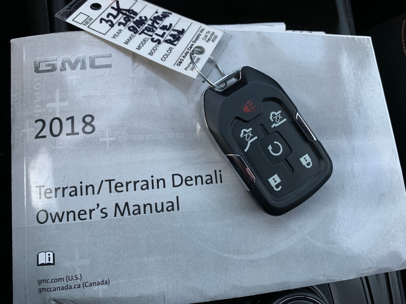 GMC Terrain 2018 price $20,995