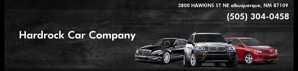 Hardrock Car Company. 505-304-0458