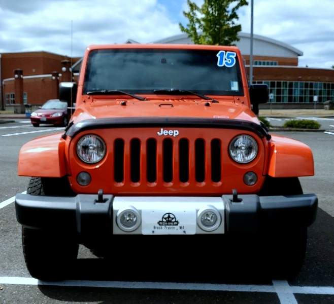 Jeep Wrangler 2015 price $24,500