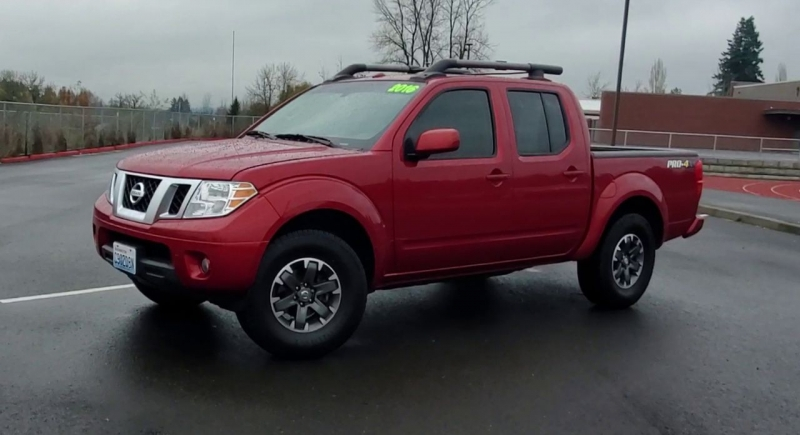 Nissan Frontier 2016 price $23,899