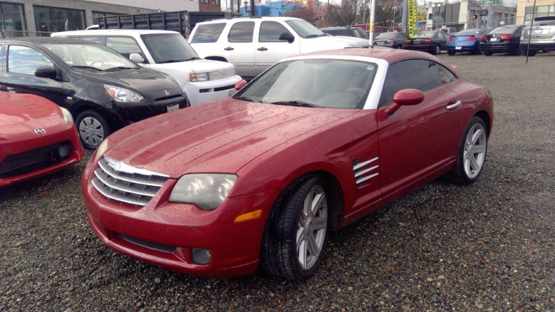 CHRYSLER CROSSFIRE 2004 price Call for Pricing.