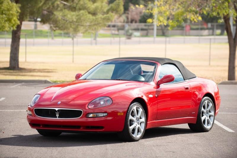 2002 Maserati M138 SPYDER Auto Junction