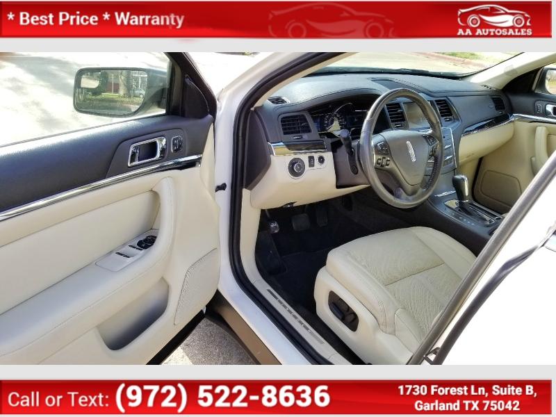 Lincoln MKS 2013 price $4,833