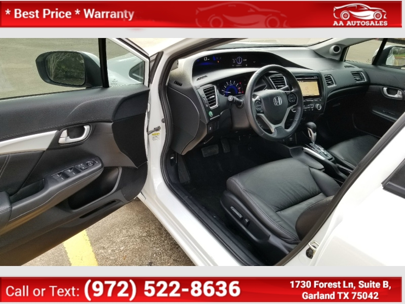 Honda Civic Sedan 2014 price $8,520