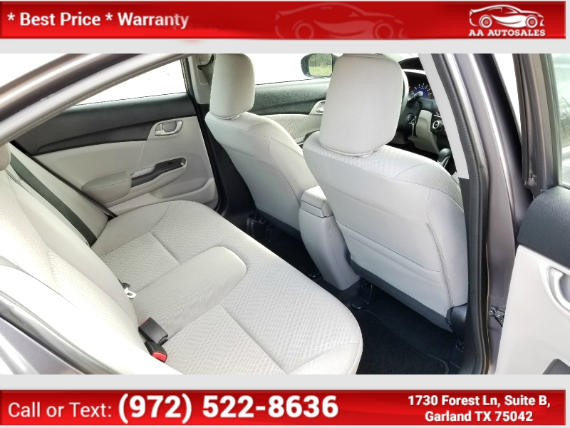 Honda Civic Sedan 2014 price $6,990