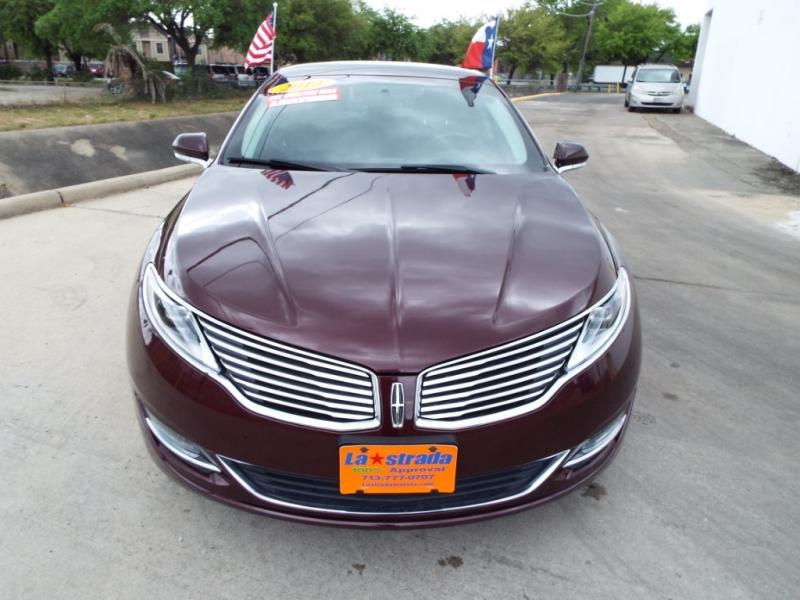 Lincoln MKZ 2013 price $7495* DOWN
