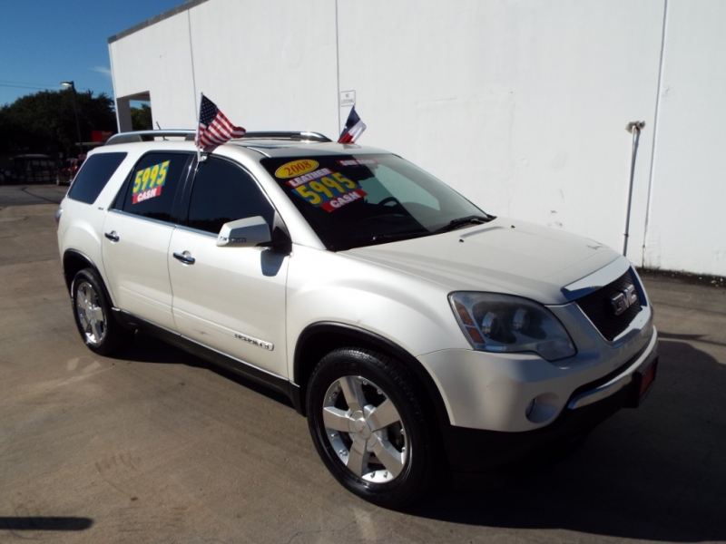 GMC Acadia 2008 price $5995* CASH ONLY