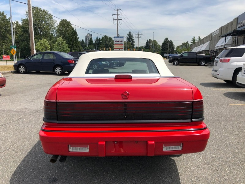 Chrysler Lebaron 1992 price $1,995