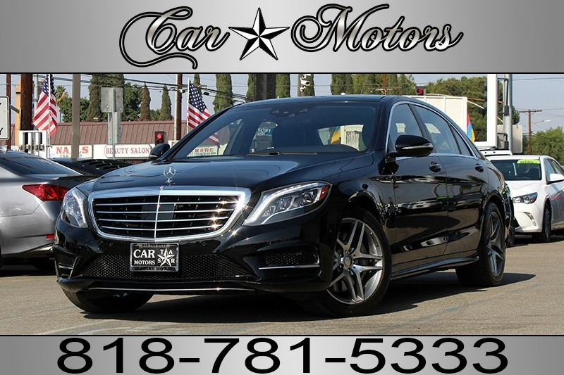 2015 Mercedes-Benz S550  S550 4MATIC LWB