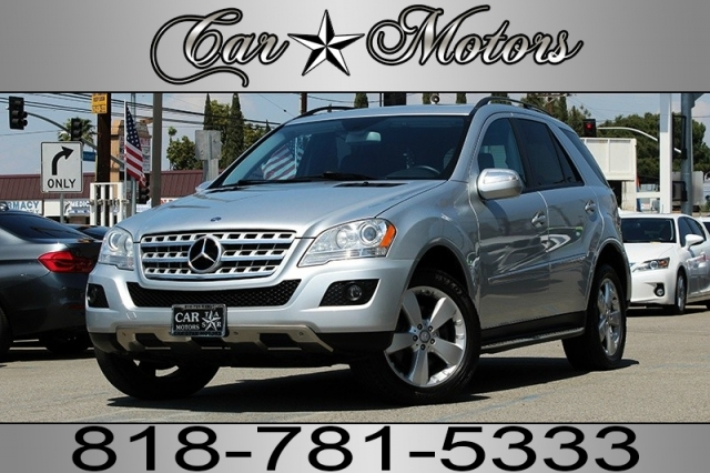 2009 Mercedes-Benz M-Class ML350 4MATIC AWD