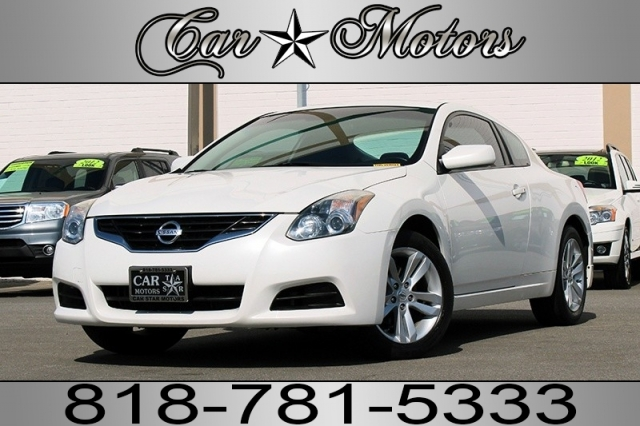 2012 Nissan Altima 2.5S Coupe