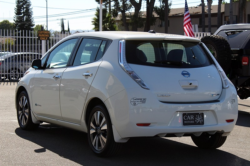 Nissan LEAF SL 2016 price $12,498
