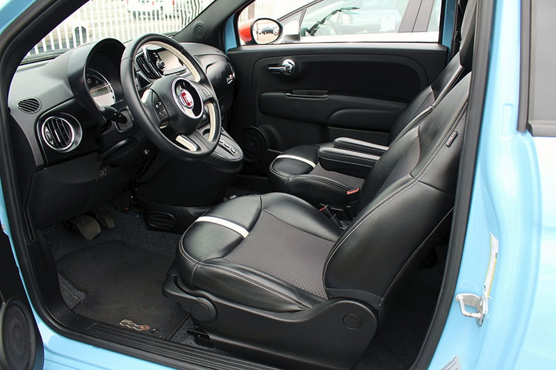 Fiat 500e 2017 price $9,998