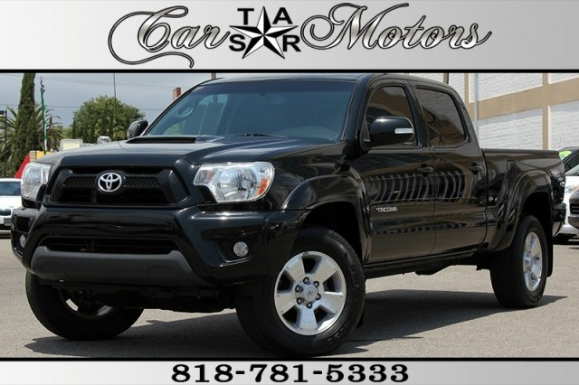 2013 Toyota Tacoma 4WD Double Cab Long Bed
