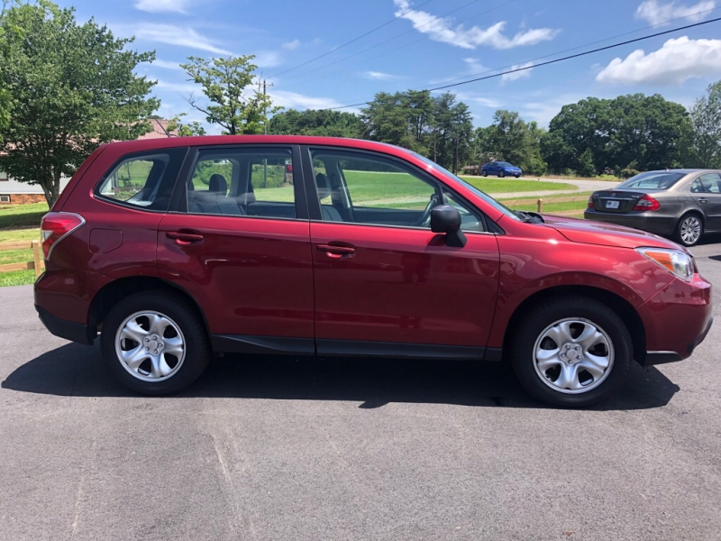 SUBARU FORESTER AWD 2015 price $14,295