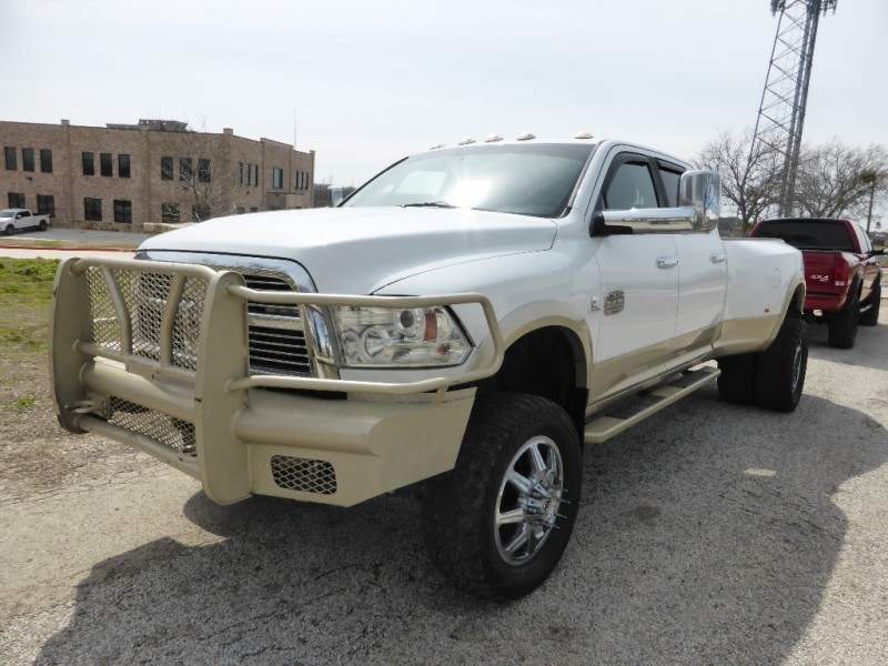 Jeep Dealership Dfw >> 2012 DODGE Ram 3500 4WD Crew Cab Laramie Longhorn CUMMINS LIFTED CUSTOM WHEELS SUNROOF DFW ...
