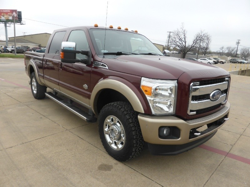 2012 ford f 250 srw 4wd crew cab king ranch diesel good miles super nice inventory dfw. Black Bedroom Furniture Sets. Home Design Ideas