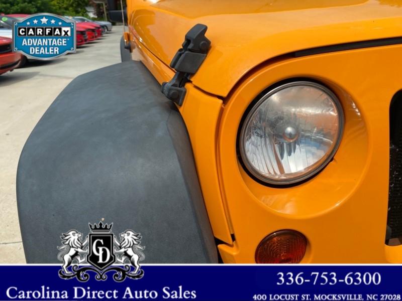 JEEP WRANGLER 2012 price $13,888