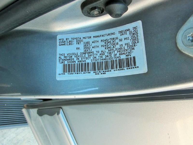 TOYOTA SEQUOIA 2001 price $3,850
