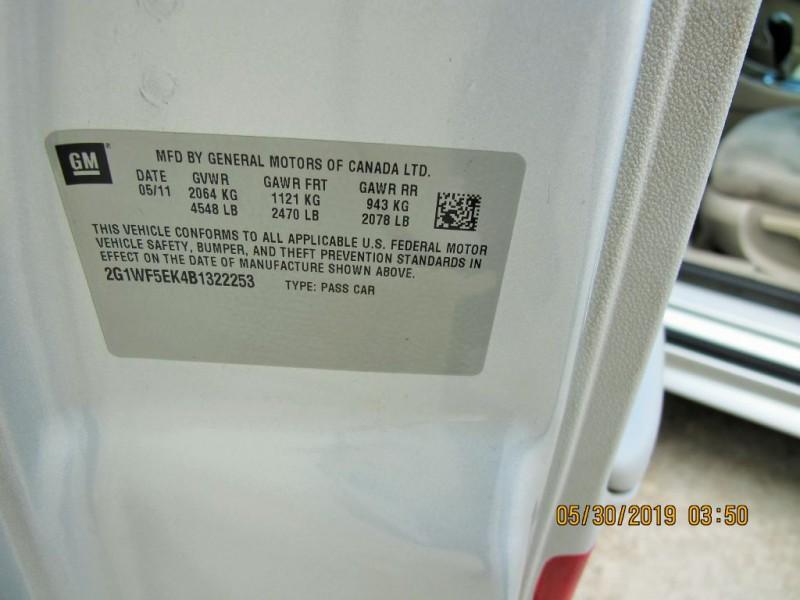 CHEVROLET IMPALA 2011 price $3,990