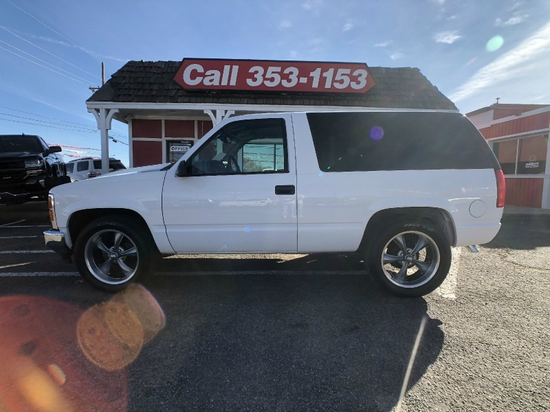 Chevrolet Tahoe 1998 price $8,995