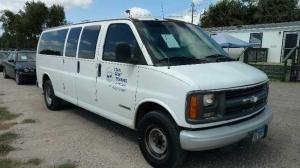Chevrolet Express Passenger 2002