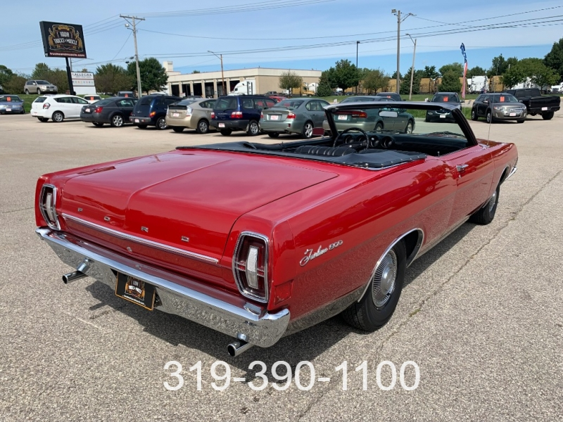 Ford Fairlane 500 1968 price $7,995